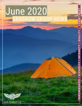 Skookum June 2020 Newsletter Cover Page