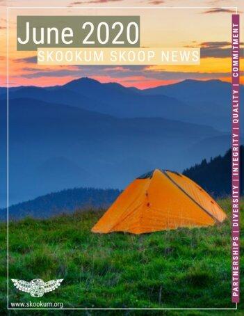 Skookum June 2020 Newsletter Cover Page